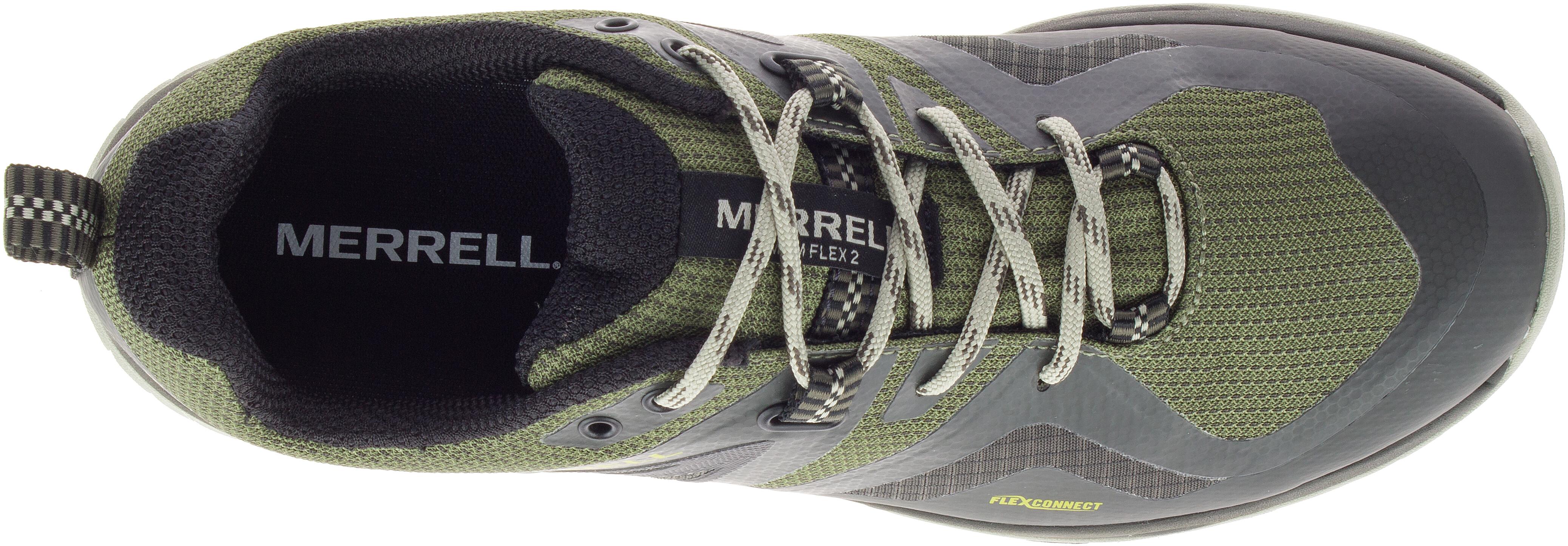 Merrell MQM FLEX 2 GTX Chaussures Pour Homme Chaussures de marche-Lichen Toutes Tailles